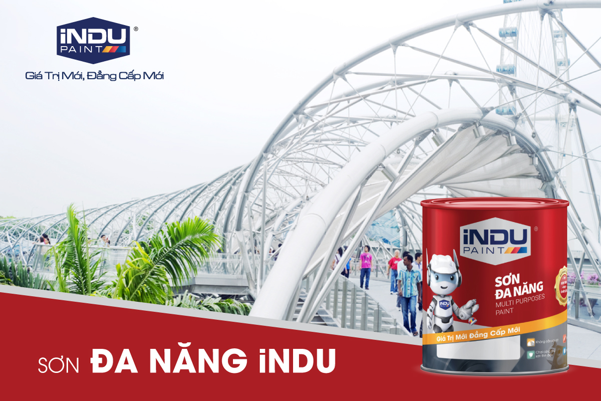 THE iNDU 2TP VERSATILE PAINT –  SUITABLE FOR ALL MATERIALS
